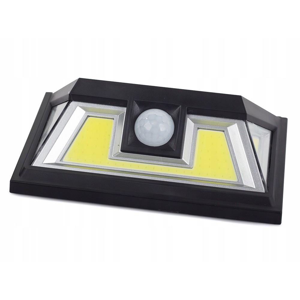 Solárna lampa 74 SMD LED so snímačom pohybu 10x15x5cm megamix.sk