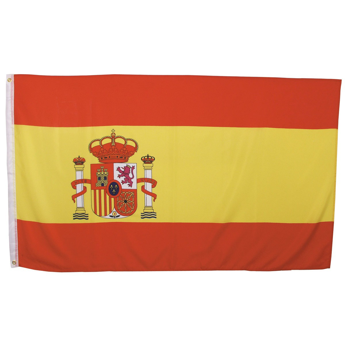 Španielska vlajka 150x90cm obojstranná polyester megamix.sk