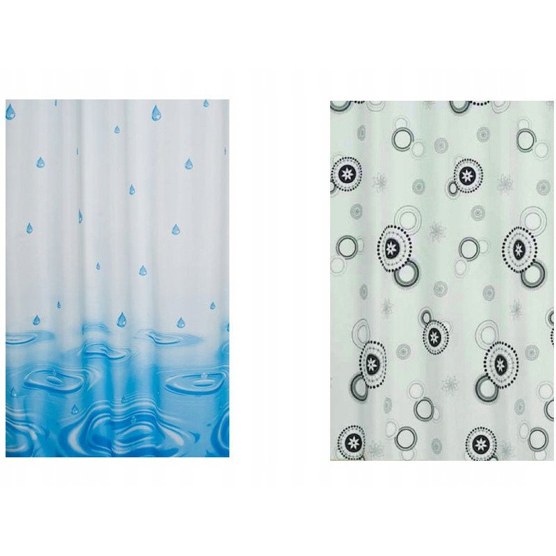 sprchové záclony textilné 120x200cm megamix.sk