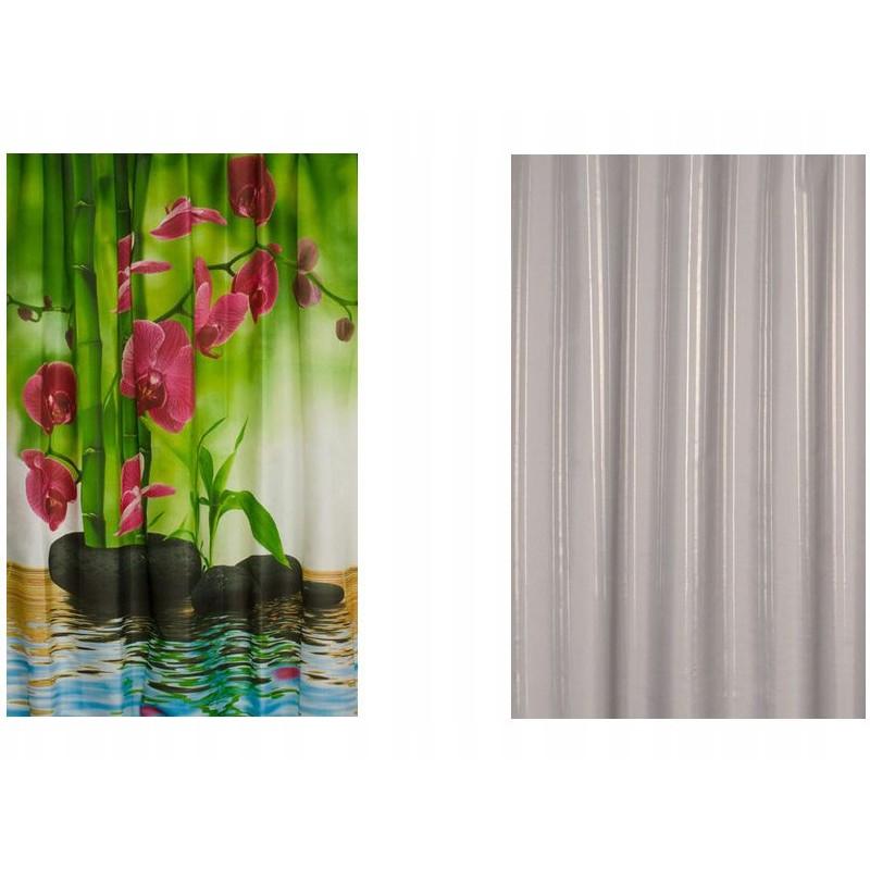 sprchové záclony textilné 150x200cm megamix.sk