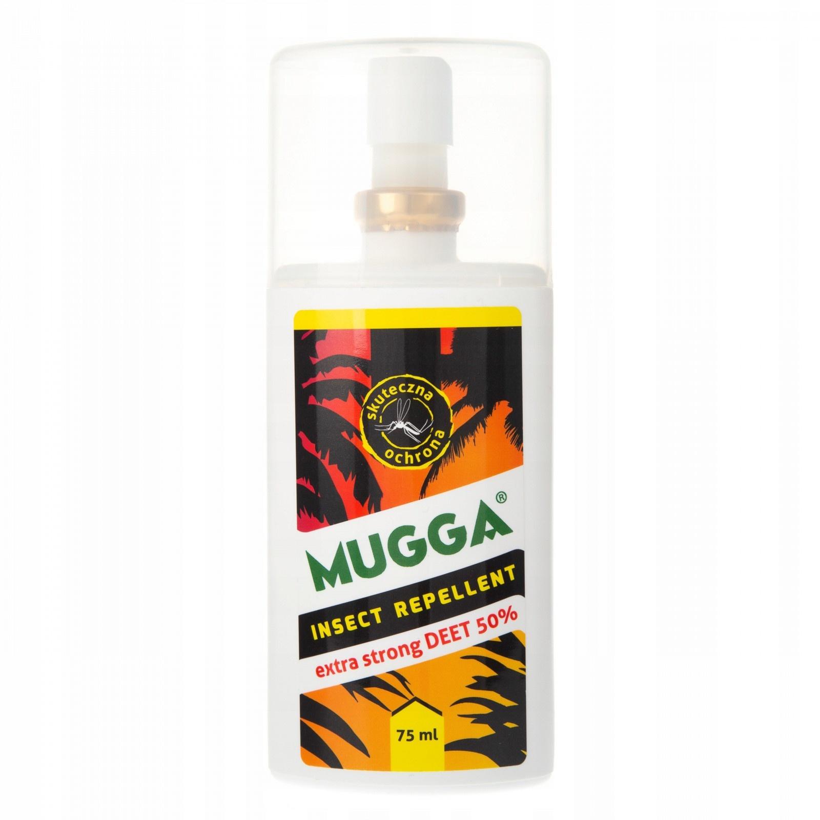Sprej na komárov kliešťov super silný MUGGA 50% megamix.sk