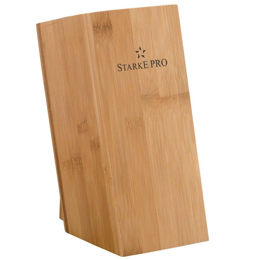 Stojan na nože z bambusového dreva Starke Pro