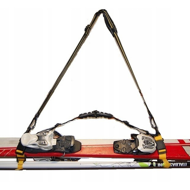 Suchý zips na upevnenie lyží 11cm pás na lyže viazanie rôzne vzory megamix.sk