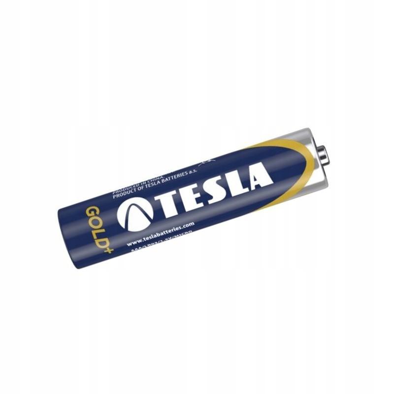tesla batérie aa lr06 gold+ 4ks baterky megamix.sk