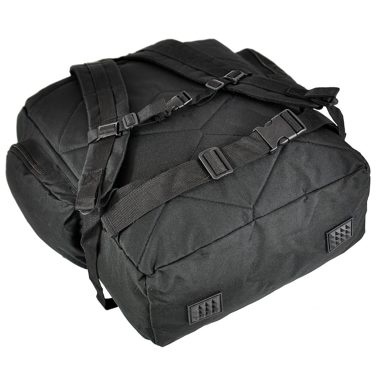 ultra ľahký batoh čierny príručná batožina do lietadla megamix.sk