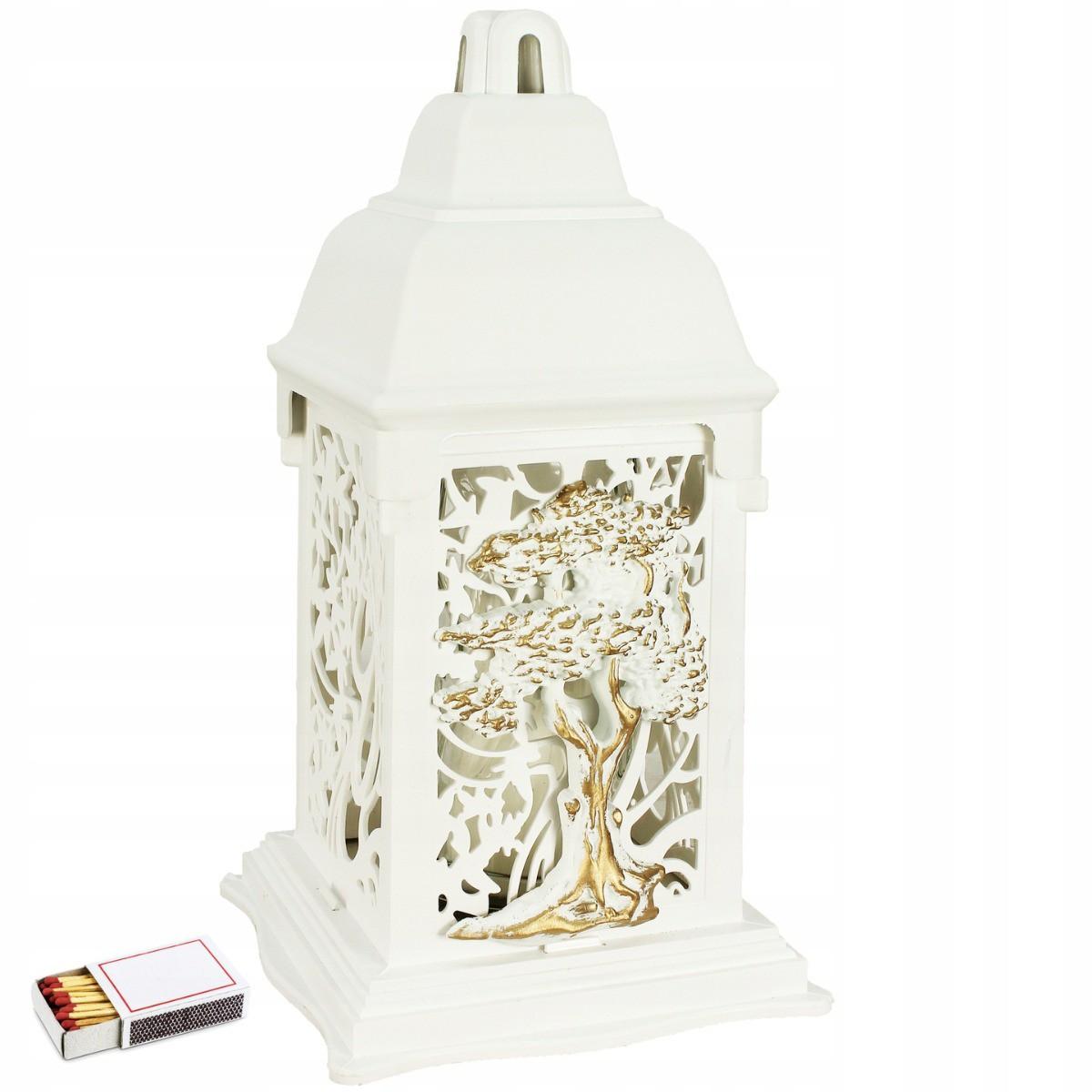 Umelecký dekoratívny lampión so sviečkou megamix.sk