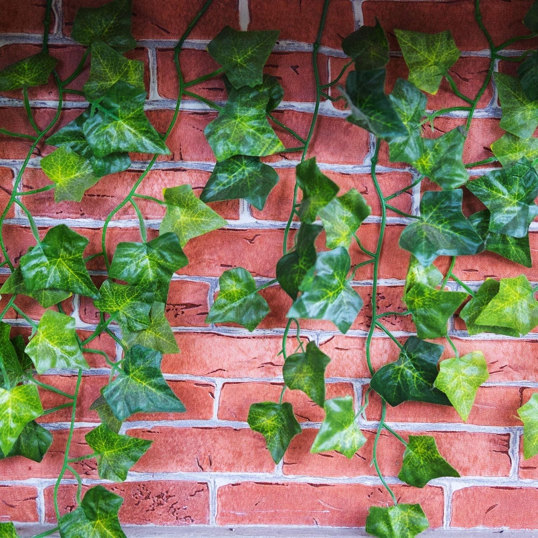 Umelý brečtan na balkón 6ks 2m dekorácia na stenu megamix.sk