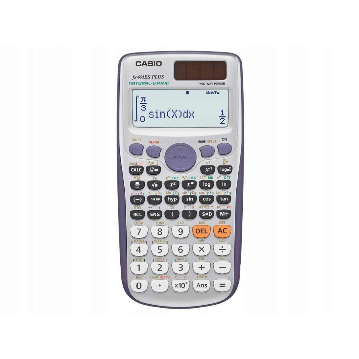 vedecká kalkulačka casio fx-991es derivácie matice integrály megamix.sk