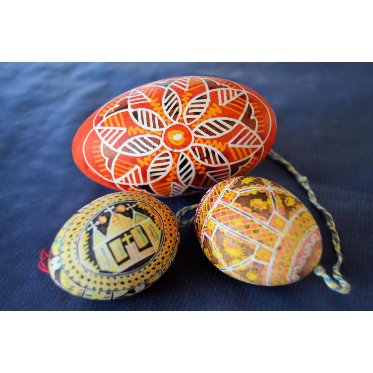 veľkonočné vajíčka zdobenie predaj dekorácie kraslice maľované husacie megamix.sk