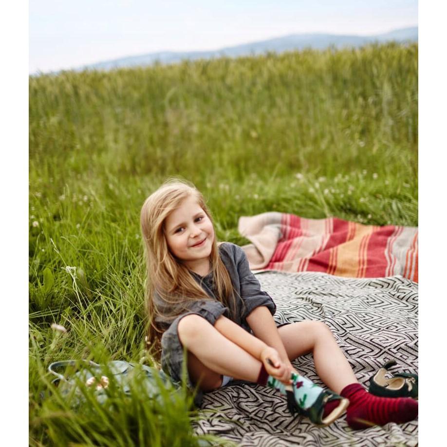 Veselé ponožky detské BEETROOT repa 31-34 farebné megamix.sk