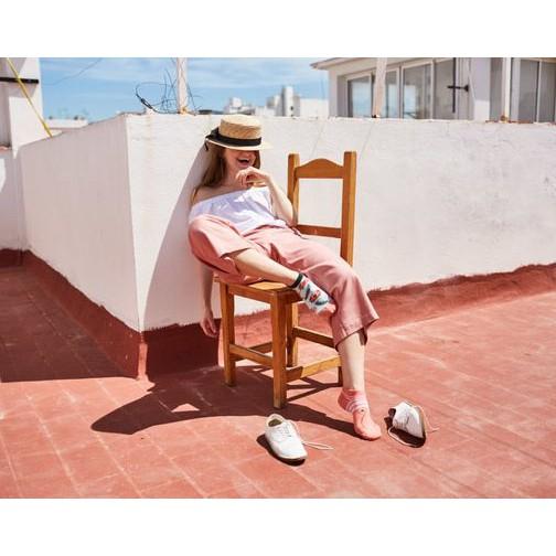 veselé ponožky FRUTTI di MARE plody mora 43-46 nízke farebné megamix.sk