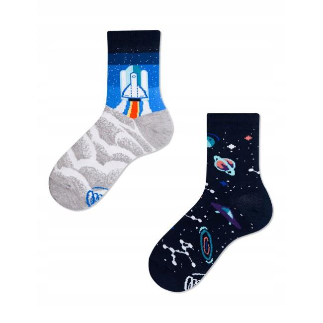 veselé ponožky SPACE TRIP raketa vesmír planéty hviezdy 23-26 farebné megamix.sk