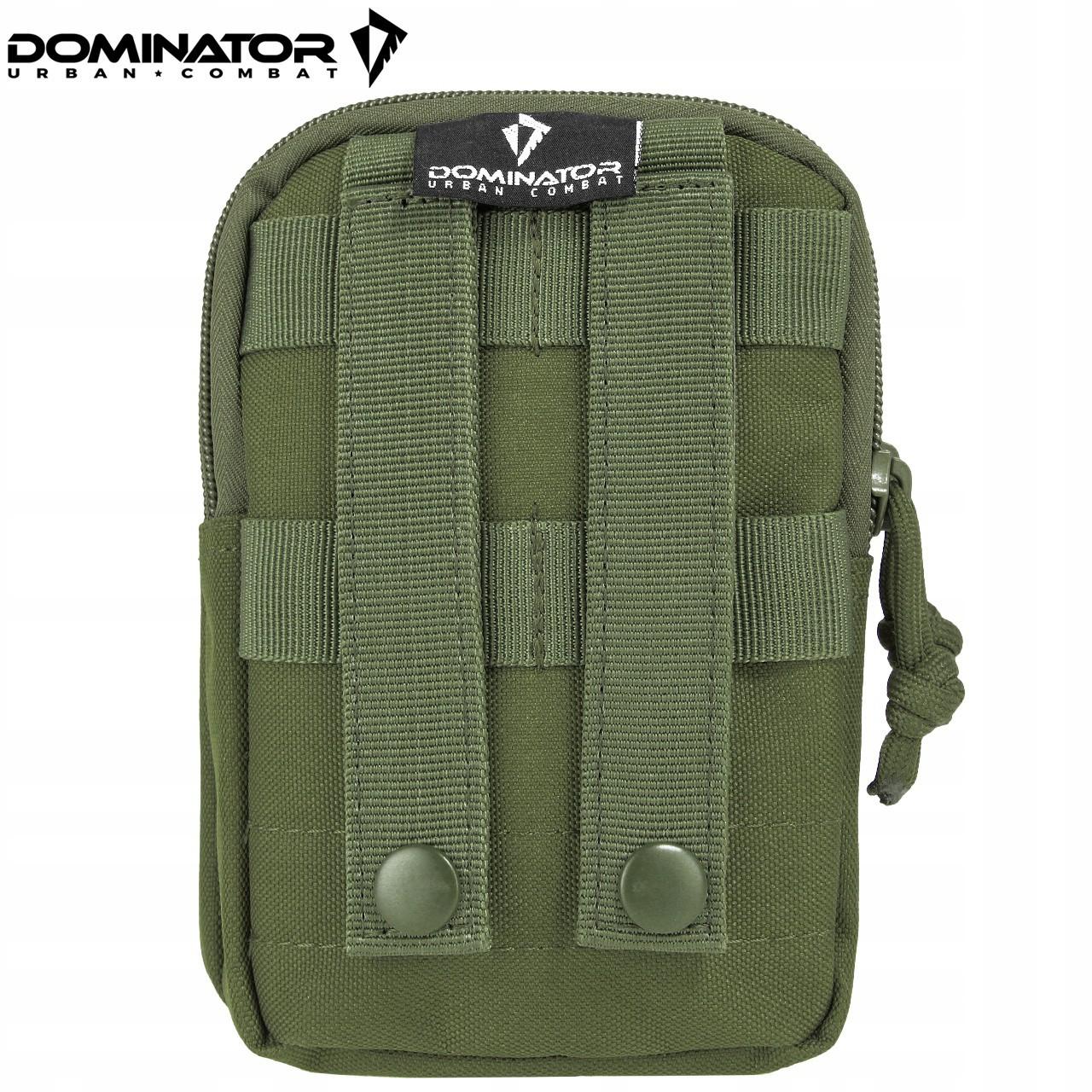 vojenské vrecko 17x11x5cm polyester olivová zelená megamix.sk