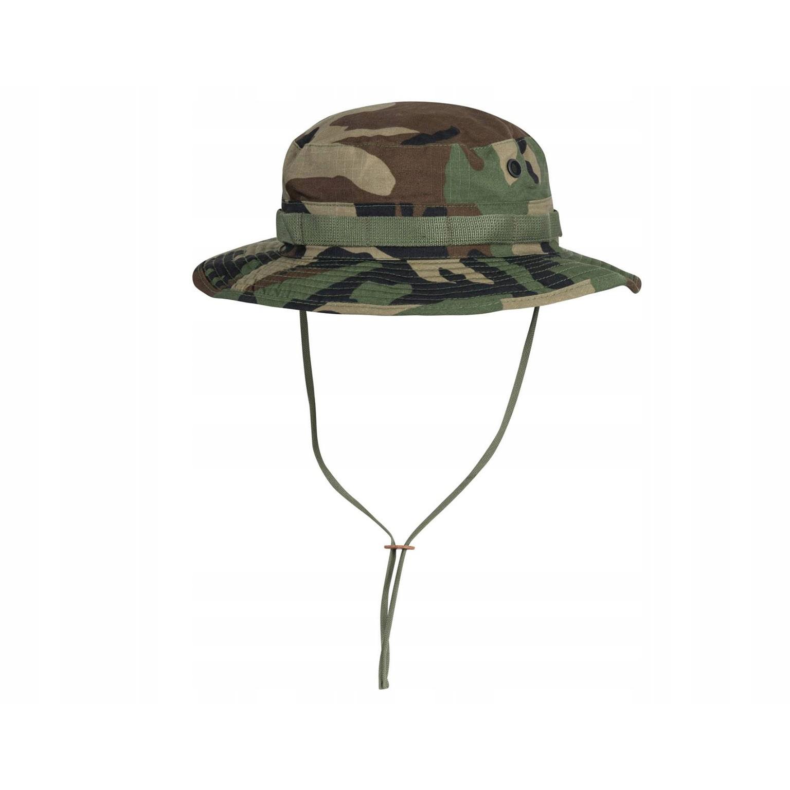 vojenský klobúk Helikon Boonie US Woodland M 57cm megamix.sk