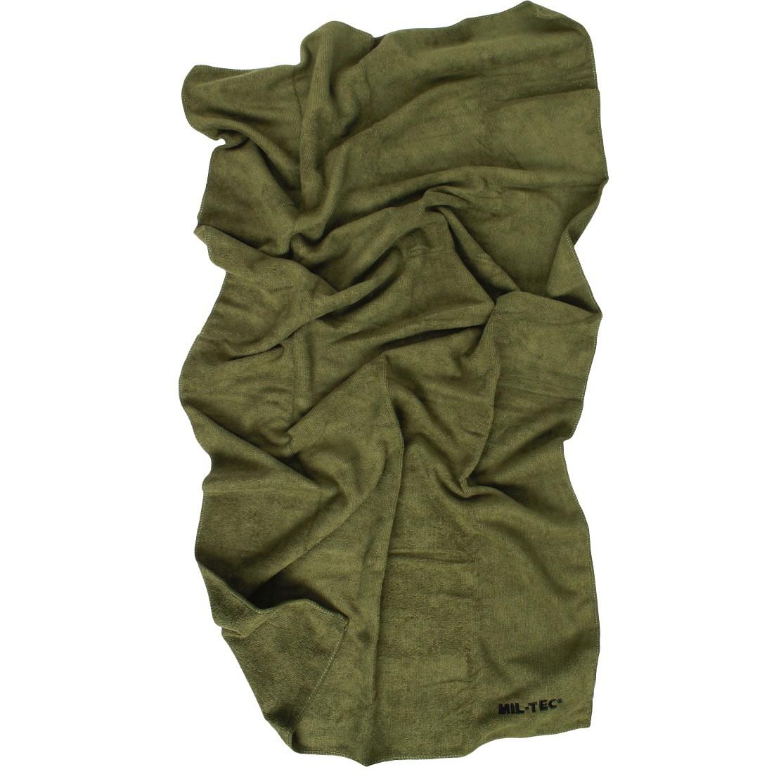 Vojenský uterák rýchloschnúci microfibra 120x60cm megamix.sk