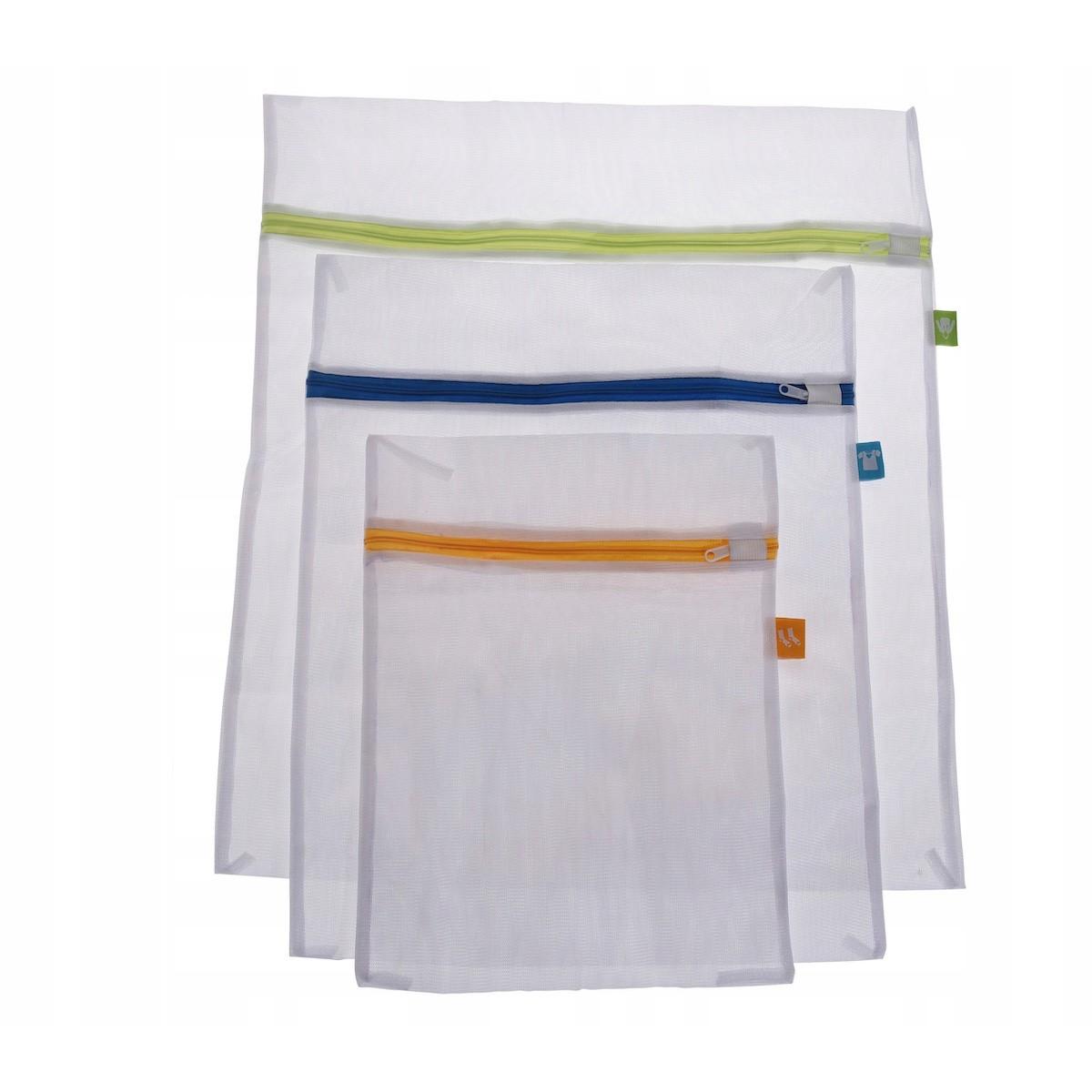 vrecká sieľka na pranie bielizne 3ks so zipsom megamix.sk