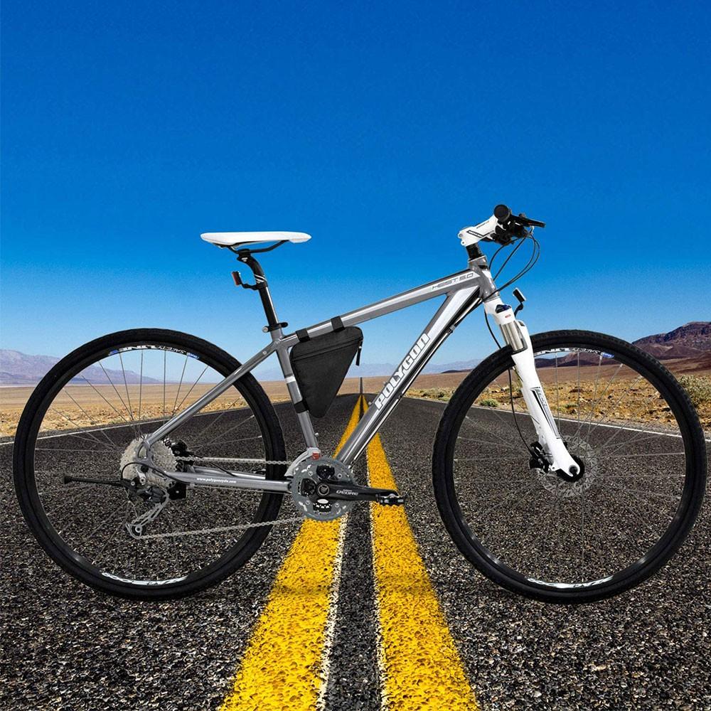 Vrecko na rám bicykla čierne 22x18x18cm megamix.sk