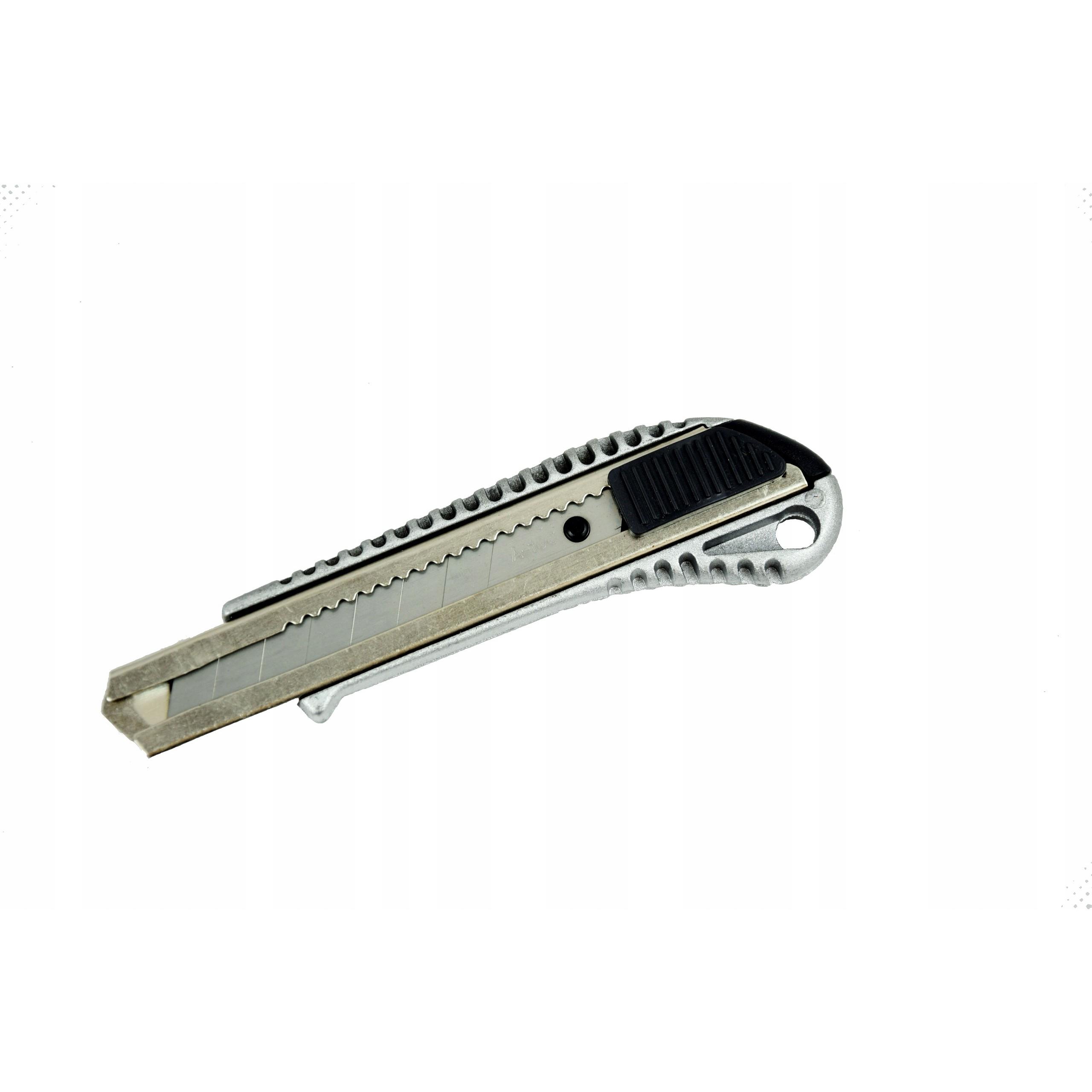 Vysúvací nožík kovový 18mm + 11 náhradných čepelí megamix.sk