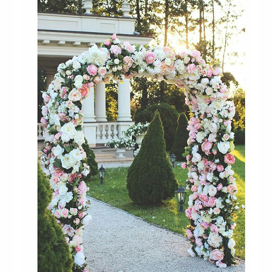 záhradná pergola na kvety kovová 240cm skladacia odolná megamix.sk