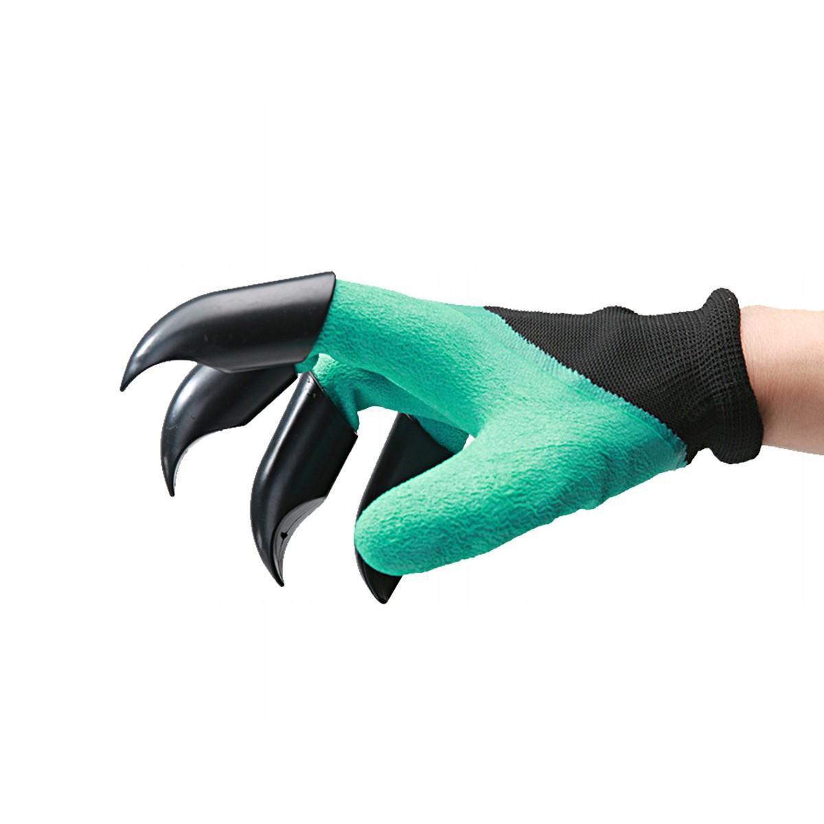 záhradné rukavice s pazúrmi na hrabanie univerzálna veľkosť megamix.sk