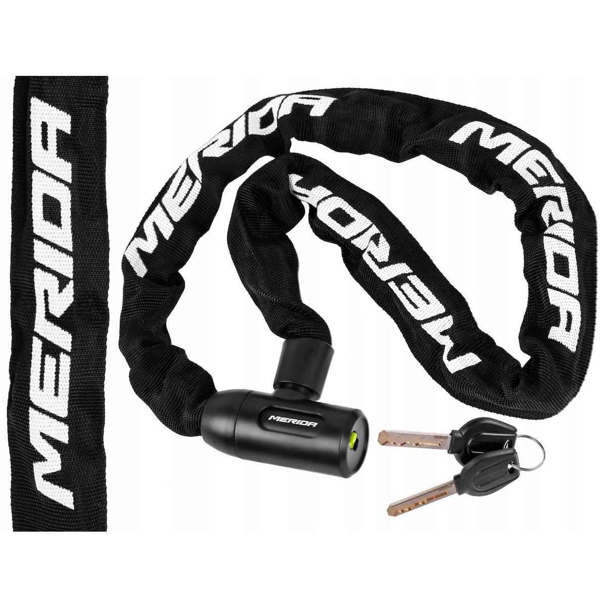 Zámok na bicykel oceľový kábel 6x900mm LC-MD019 megamix.sk