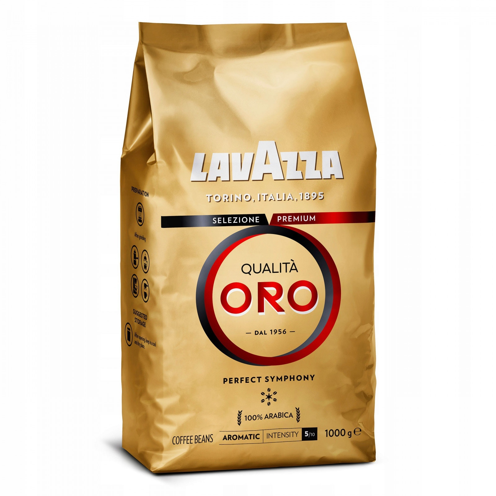 Zrnková káva Lavazza Qualita Oro 1kg megamix.sk