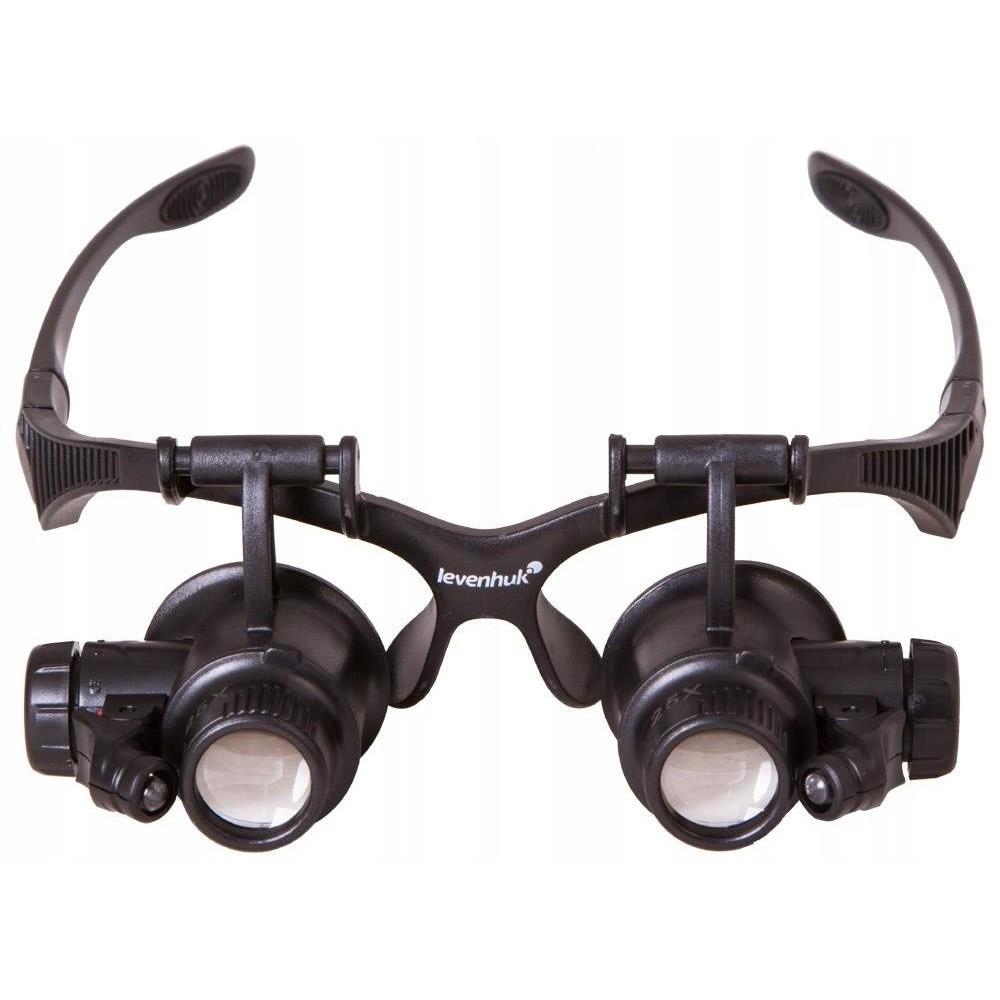 Zväčšovacie okuliare 25x lupa na opravy G4 LED megamix.sk