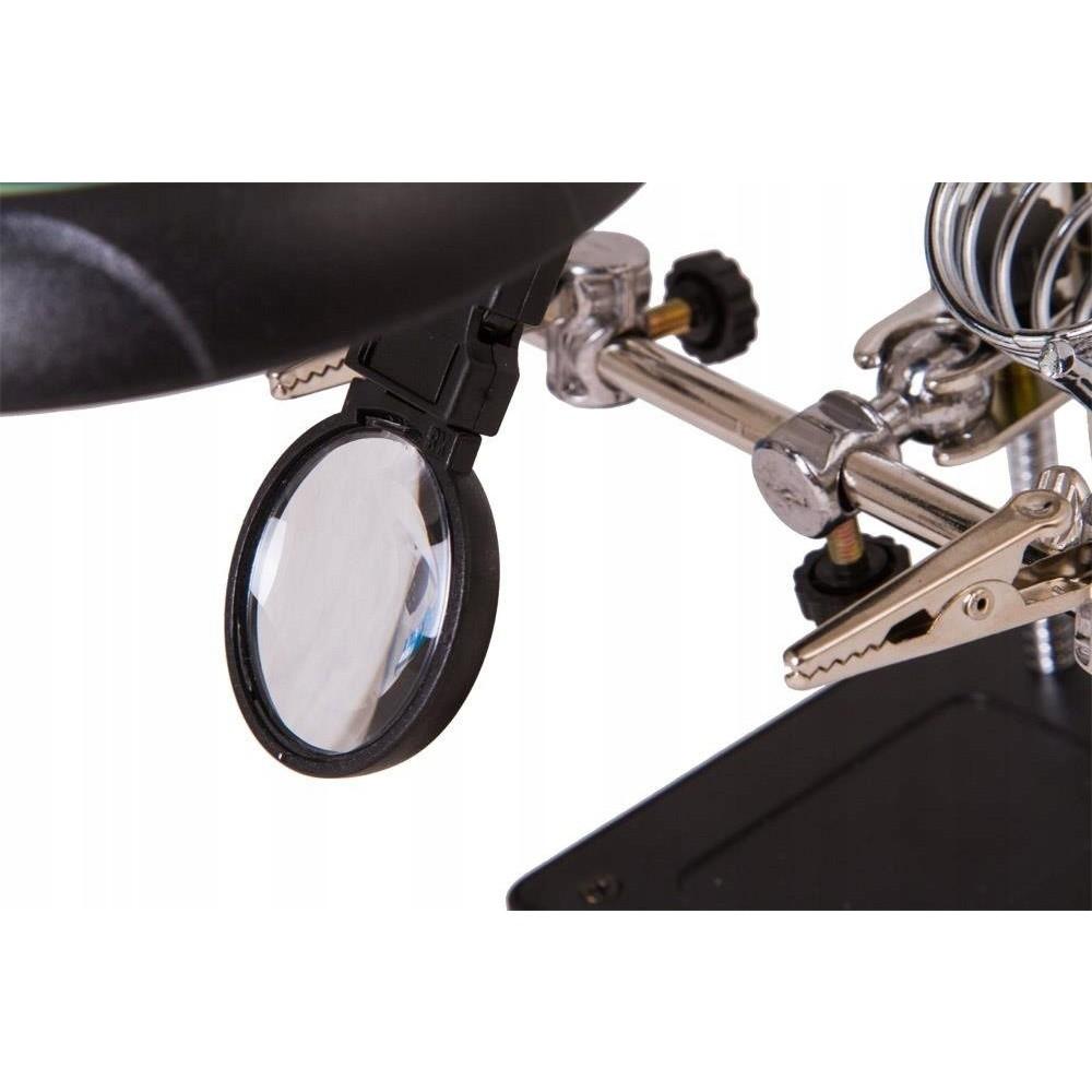 Zväčšovacie sklo LED lupa na šperky Levenhuk megamix.sk