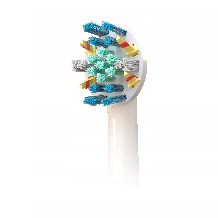 Náhradné koncovky pre Oral-B 12ks + 2 balenia žuvačiek Orbit White ZADARMO